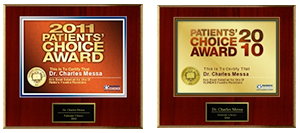 Dr. Charles Messa - Patient's Choice Award 2011 2010