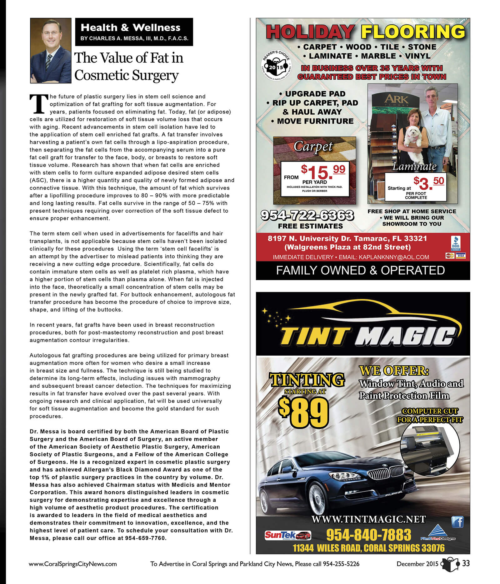 plastic surgery articles 2012