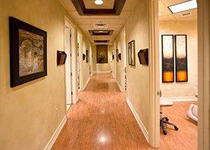 Hallway at Weston Cosmetic Surgery