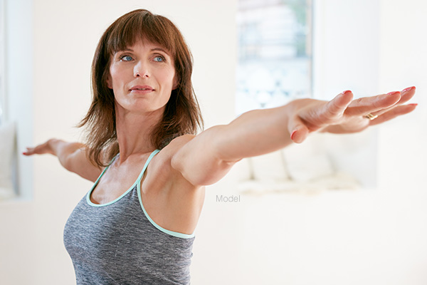 Aging Upper Arm Skin Featured Model