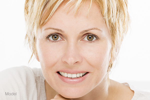 Smooth, Wrinkle-Free  Skin Featured Model