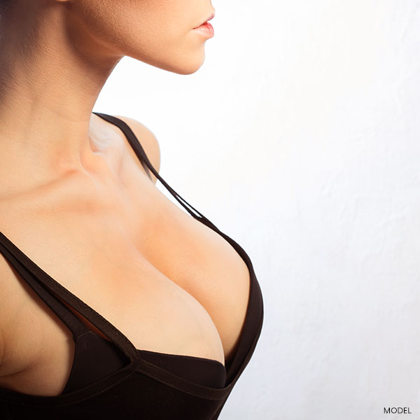 Larger Breasts Featured Model